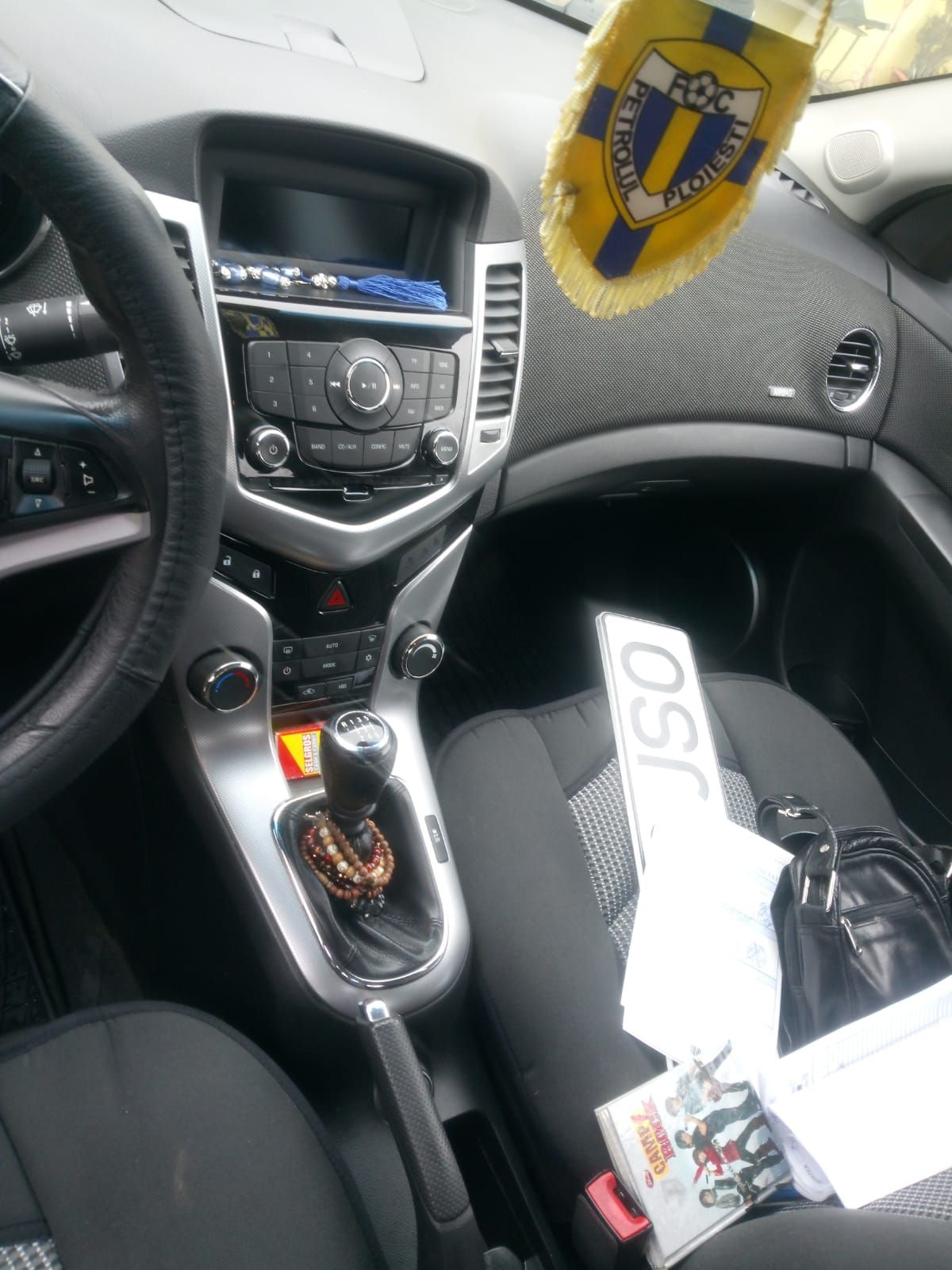 Chevrolet Cruze Swisorent interior